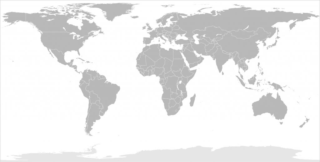 Printable World Map - Wikihow - Printable World Map