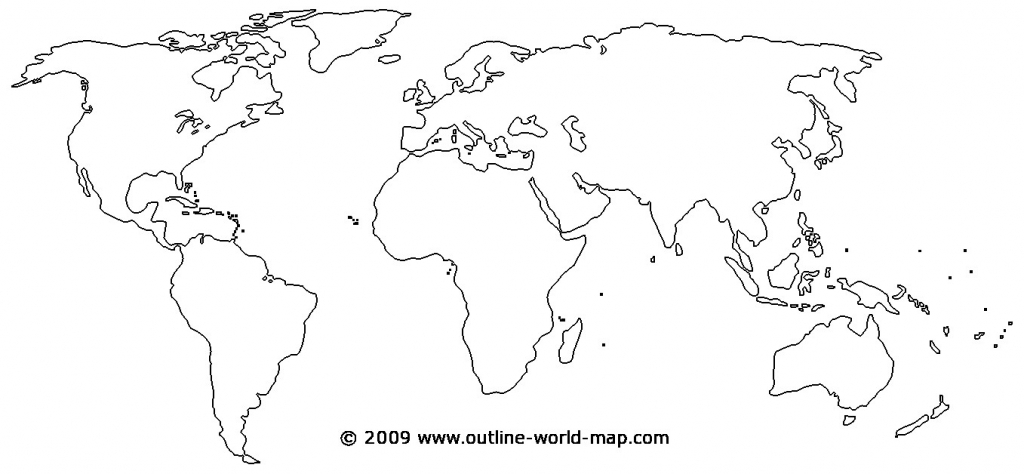 Printable World Map - World Wide Maps - Printable Map Of World Blank