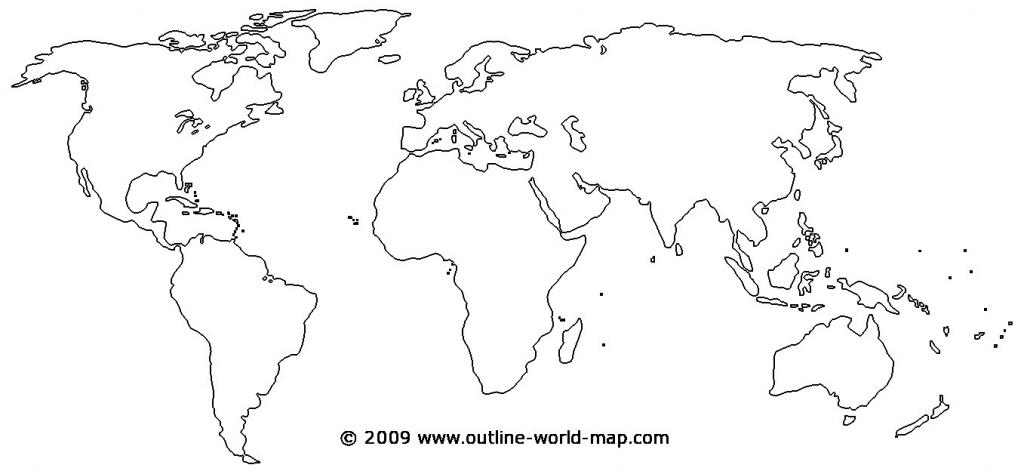 Printable World Map - World Wide Maps - Printable World Map
