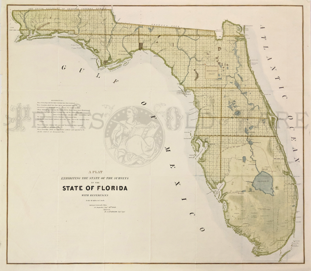 Prints Old & Rare - Florida - Antique Maps & Prints - Old Florida Maps For Sale