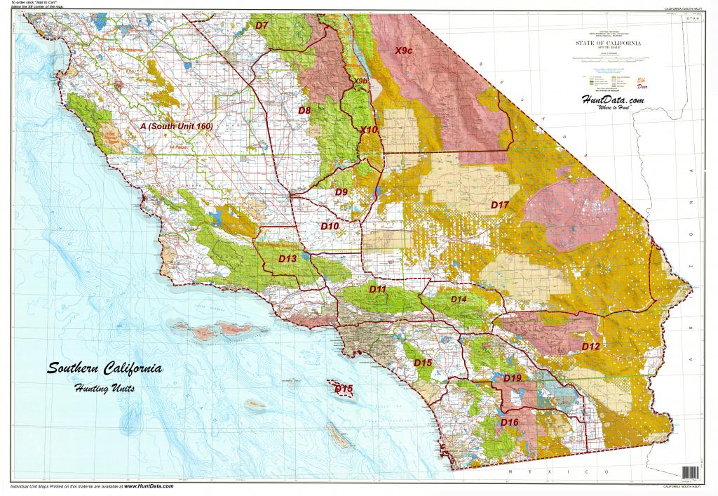 Product Detail - California Land Ownership Map