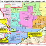 Proposed Elementary Attendance Zone Changes | Home | The Wylie Way   Wylie Texas Map