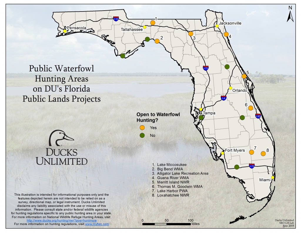 Public Hunting On Du Projects In Florida - Florida Public Hunting Map