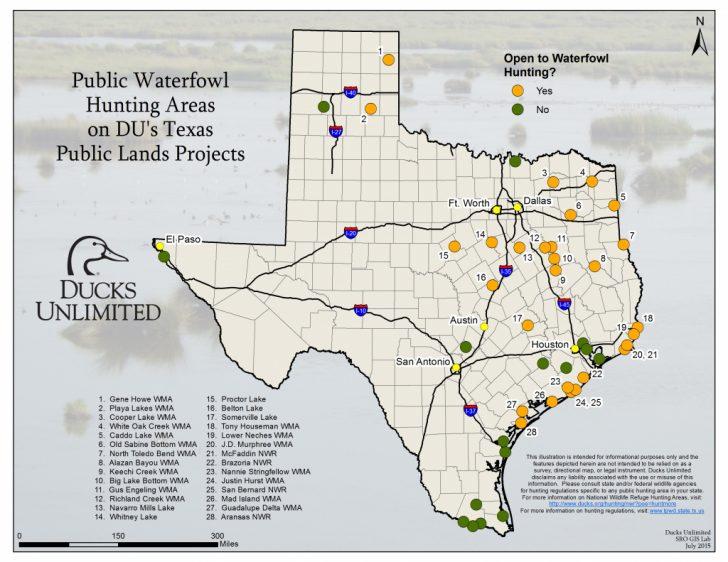 Texas Public Land Map