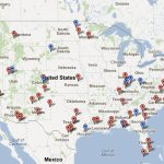 Public Intelligence Identifies 64 Aerial Drone Bases In The Us   The   Map Of Army Bases In California