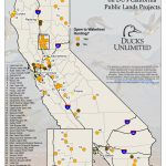 Public Waterfowl Hunting Areas On Du Public Lands Projects   California Public Lands Map
