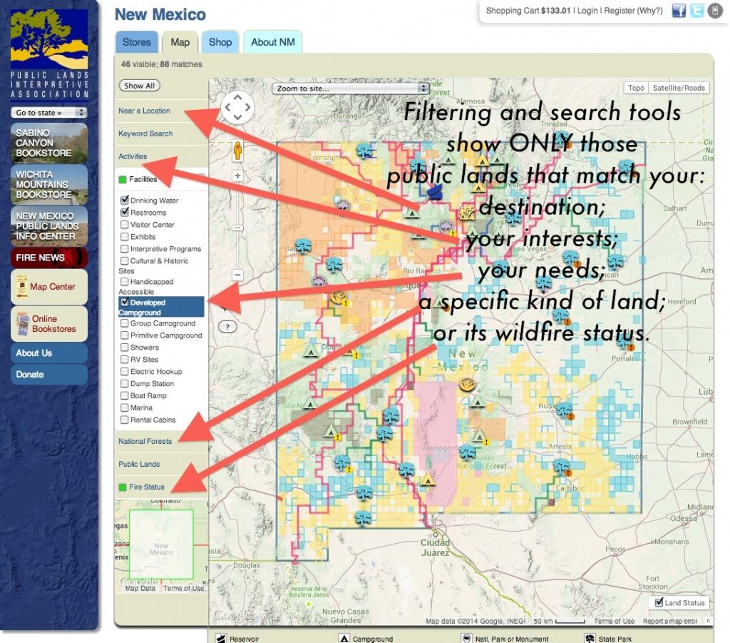 Publiclands | Montana - California Public Hunting Land Map