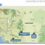 Publiclands | Oregon   Blm Dispersed Camping California Map