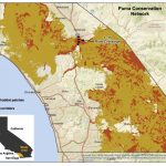 Puma Conservation Area Map [Image] | Eurekalert! Science News   Mountain Lions In California Map