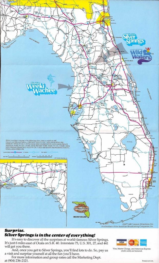 Quasi-Interesting Paraphernalia Inc.: Florida's Silver Spings - Silver Springs Florida Map