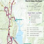 Race   Printable Iditarod Trail Map