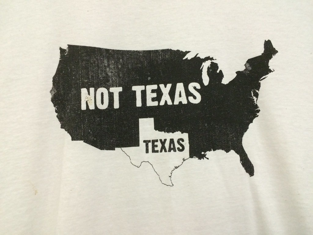 Rahr & Sons Texas Map Shirt   Scumdogsteev   Flickr - Texas Not Texas Map T Shirt