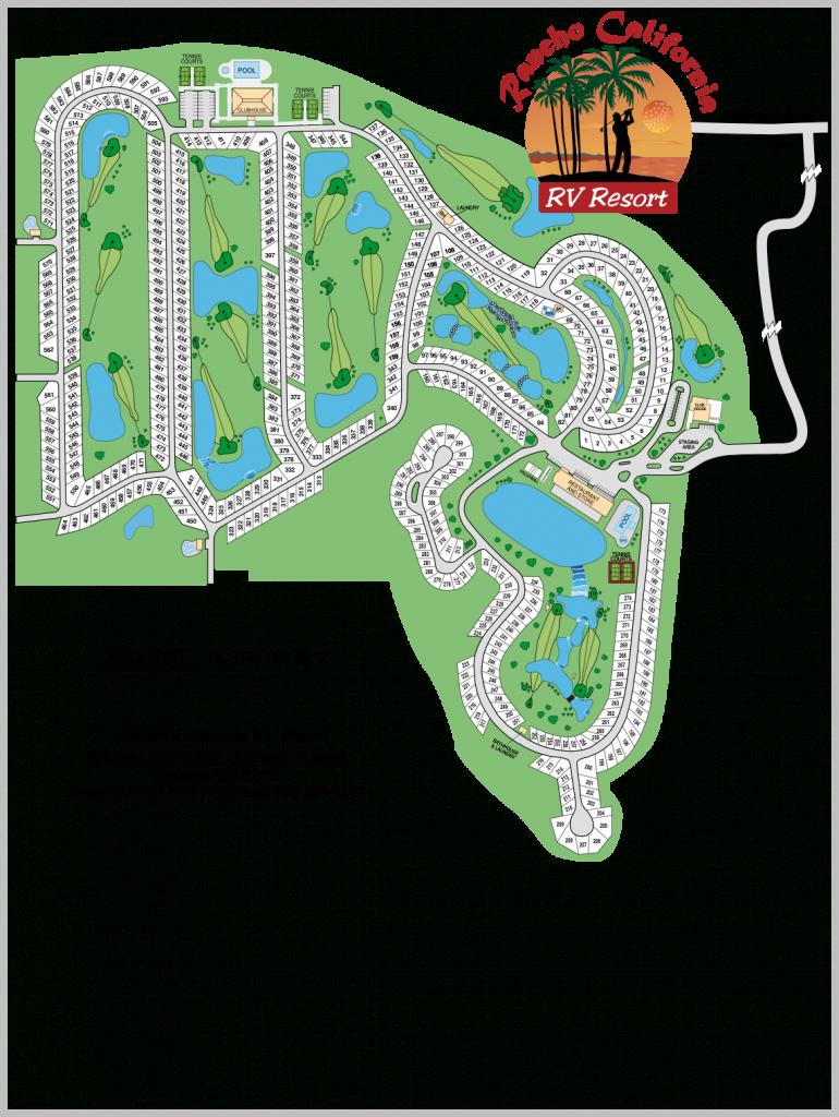 Rancho California | Temecula Realty, Inc. - California Rv Resorts Map