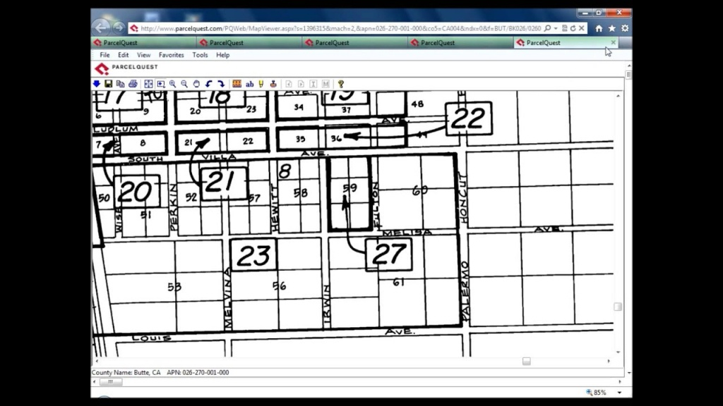 Reading A Parcel Map - Youtube - Texas Parcel Map