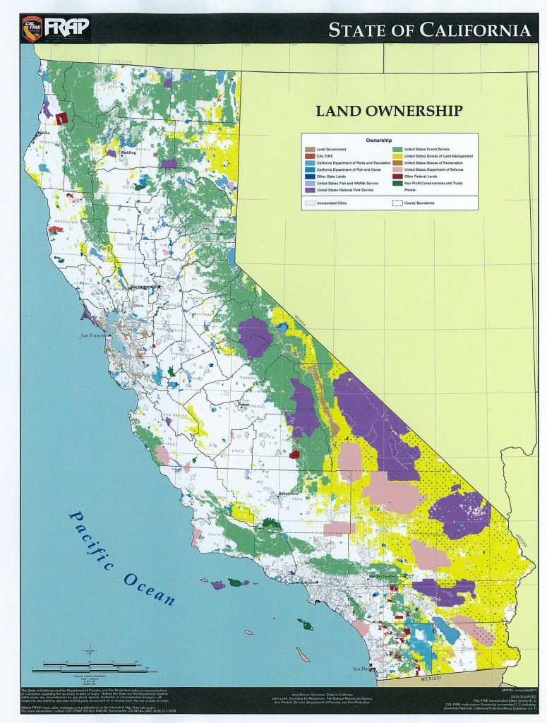 Recess And Recreation   Loggersdaughter - California Land Ownership Map
