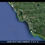 Red Tide Maps Show Few Spots In Southwest Florida   Current Red Tide Map Florida