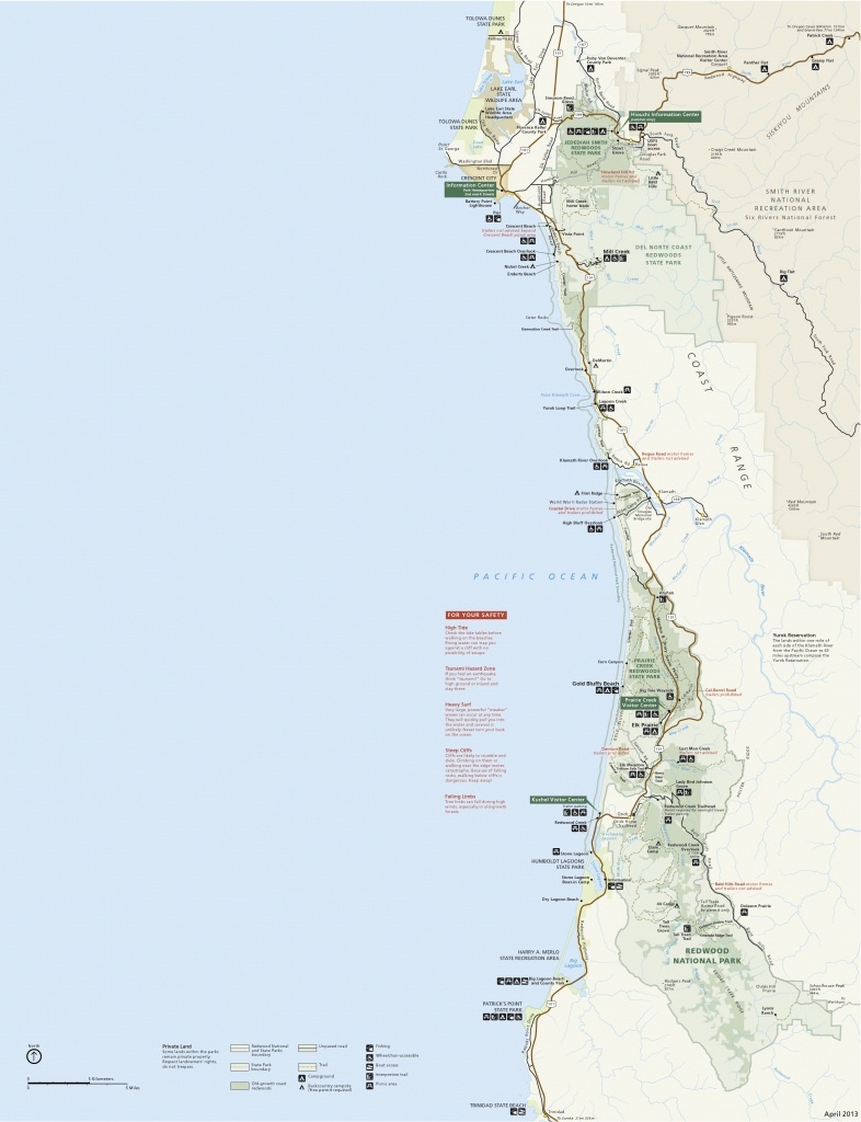 Redwood Maps | Npmaps - Just Free Maps, Period. - Southern California State Parks Map