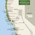 Redwood Parks Day Passes 'sold Out' (2015) | Save The Redwoods League   Southern California State Parks Map