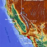 Reference Maps Of California, Usa – Nations Online Project – Online Map Of California