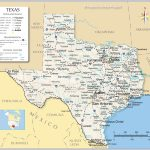 Reference Maps Of Texas, Usa   Nations Online Project   Map Of Texas Major Cities