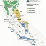 Region 5   Contracting   California Forests Map