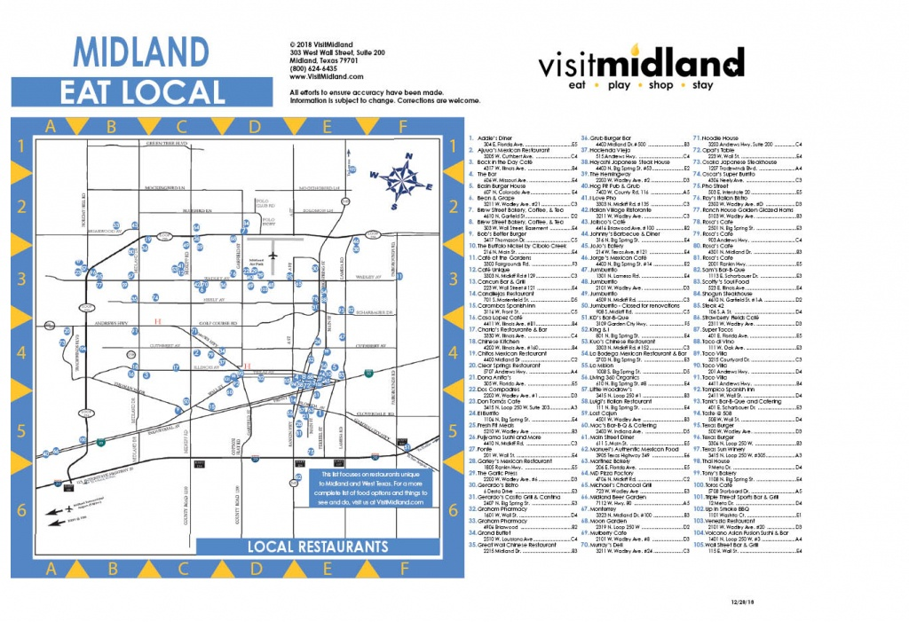 Request Information | Guides & Brochures | Visit Midland Texas - Map Of Midland Texas And Surrounding Areas