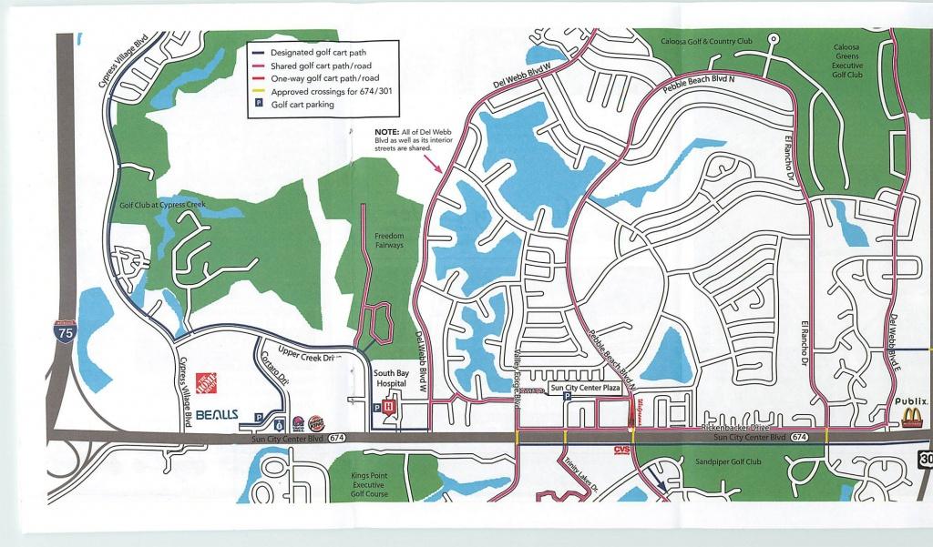 Residents – Sun City Center - Sun City Florida Map