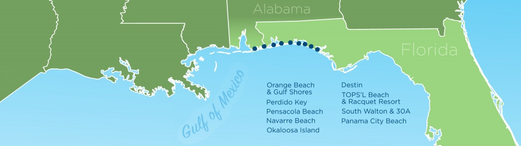Resortquest Real Estate | Nw Fl & Al Gulf Coast Condos And Homes For - Destin Florida Location On Map