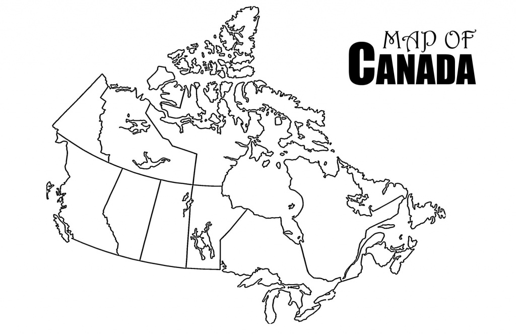 Revolutionary Printable Canada Map Strange Of Provinces And - Printable Map Of Canada