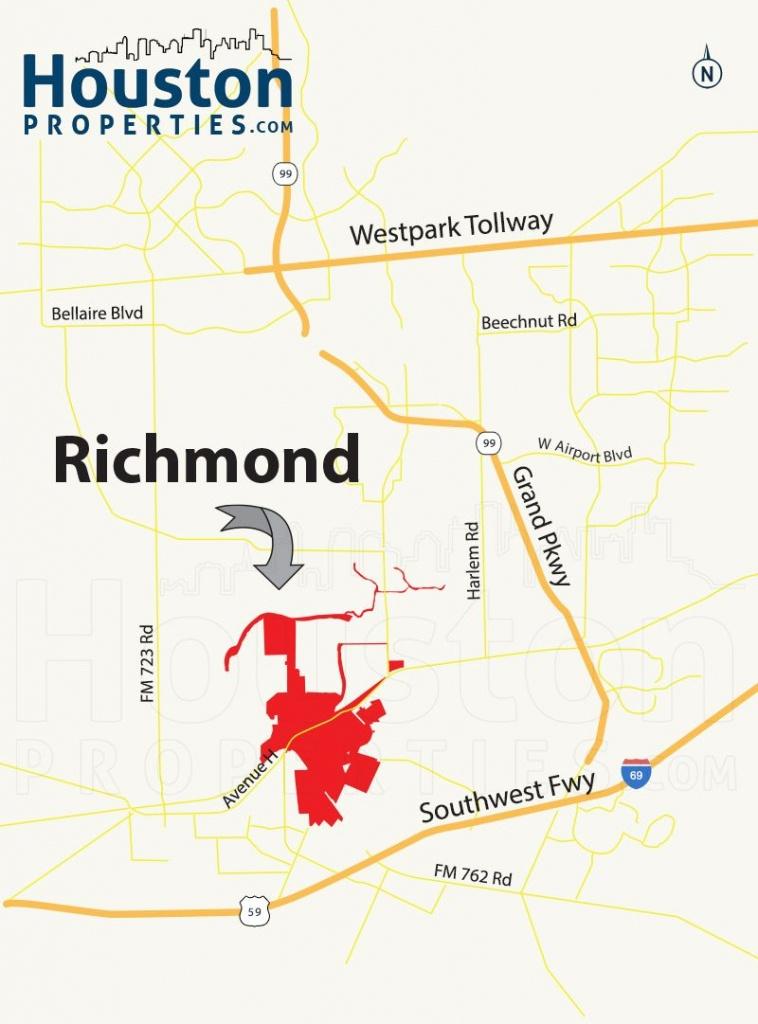 Richmond Tx Map   Great Maps Of Houston   Richmond Homes, Houston - Stafford Texas Map
