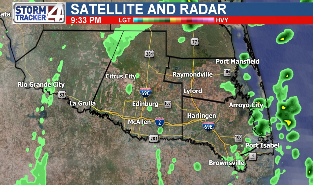 Rio Grande Valley Weather | News, Weather, Sports, Breaking News | Kgbt - Texas Weather Map