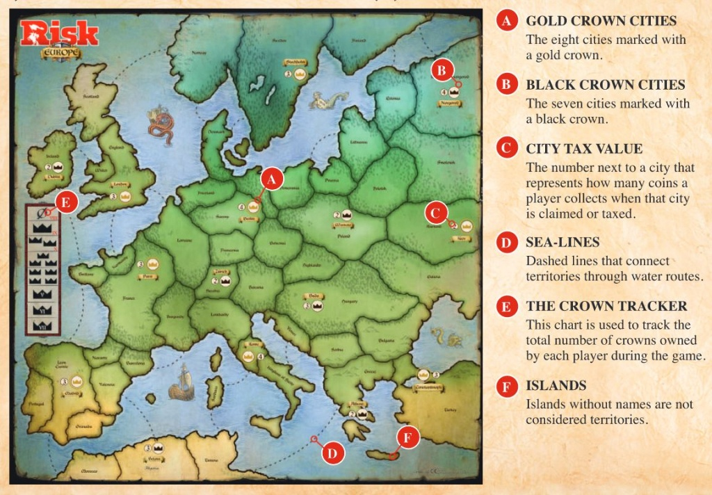 Risk Board Game Map (99+ Images In Collection) Page 2 - Risk Board Game Printable Map