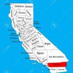 Riverside County (California, United States Of America) Vector   Riverside California Map