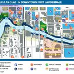 Riverwalk/las Olas In Downtown Fort Lauderdale | April Break In 2019   Street Map Of Fort Lauderdale Florida