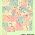 Road Map Of New Mexico With Cities   Printable Map Of New Mexico