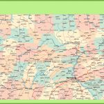 Road Map Of Pennsylvania With Cities   Printable Map Of Pennsylvania