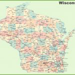 Road Map Of Wisconsin With Cities   Printable Map Of Wisconsin
