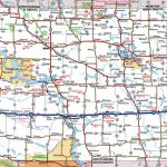 Road Map Of Wyoming And South Dakota And Travel Information   Printable Road Map Of Wyoming