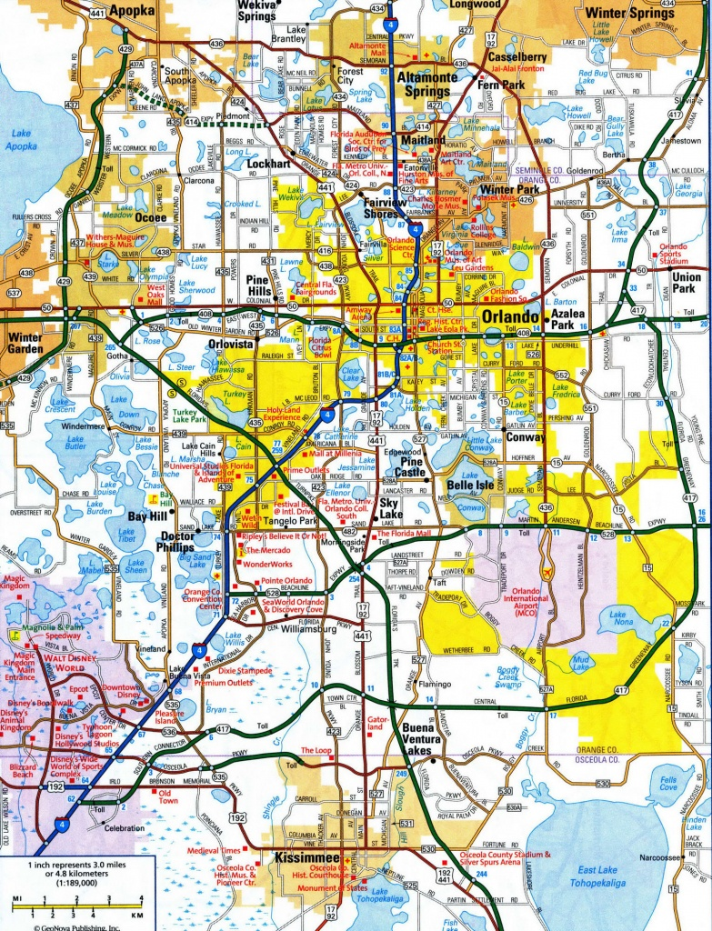 Road Maps Of Central Florida #574135 - Road Map Of Central Florida