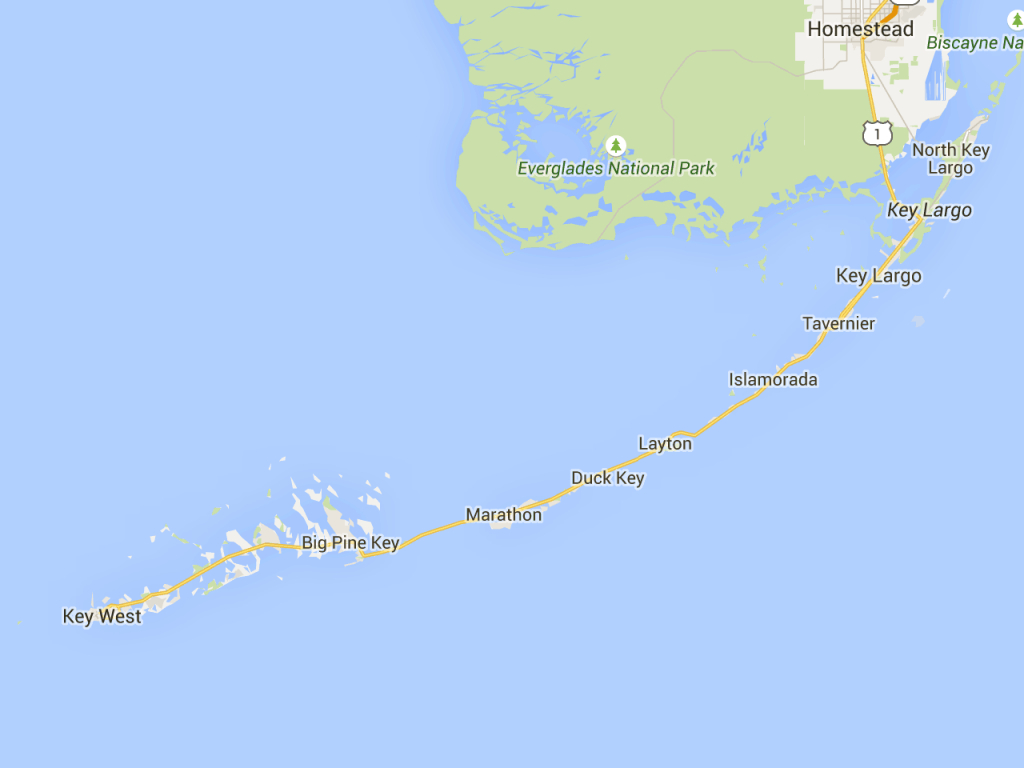 Road Trip: Florida Keys Mile-Marker Guide   Florida Rambler   Key - Florida Keys Map With Mile Markers