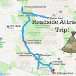 Road Trip To The 10 Weirdest Roadside Attractions In Arizona   Roadside Attractions Texas Map