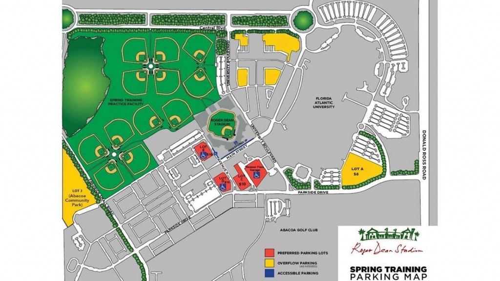Roger Dean Chevrolet Stadium   Miami Marlins - Florida Spring Training Map