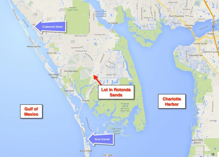 Rotonda Florida Map