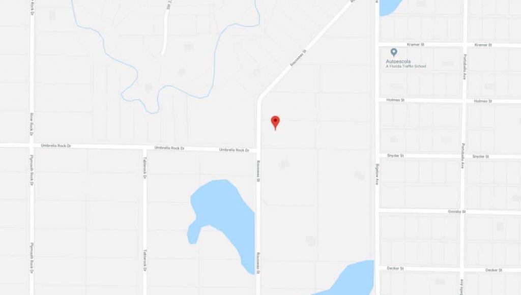 Rousseau St, Webster, Florida   Terrenos Na Florida - Webster Florida Map