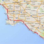 Route 1 California Road Trip Map Driving The Pacific Coast Highway   Map Of Hwy 1 California Coast