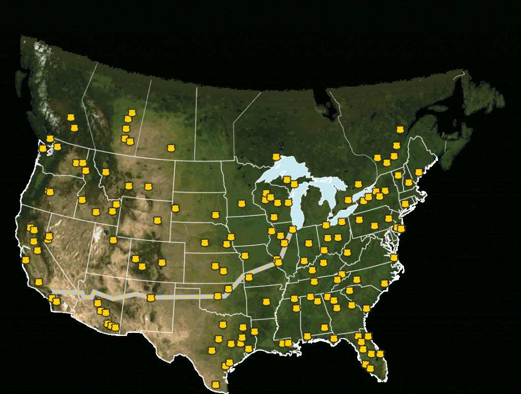 Route 66 Rv Network   Dealer Locator - Rv Dealers In Florida Map