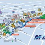 Route Map | Las Vegas Monorail   Printable Map Of Vegas Strip 2017