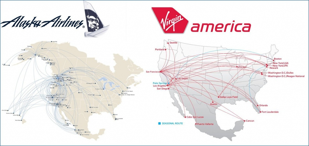 Route Maps Alaska Virgin Jpg Fit 1575 2C746 America Map 4 - World - Alaska Airlines Printable Route Map