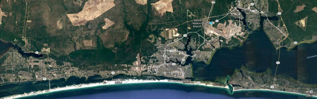 Routes Archive - Ec Rider - Fort Walton Beach Florida Map Google