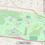 Saint Louis Zoo   Wikipedia   Forest Park St Louis Map Printable